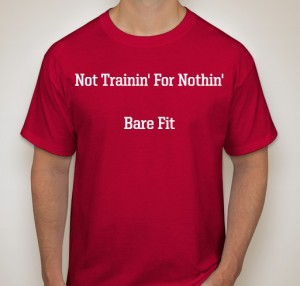 Fitness Tips By Bare Fit. Donate Now For Your T Shirt