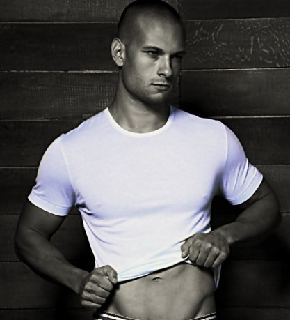 water proof workout shirts by Bare Fit model Chuck Strogish