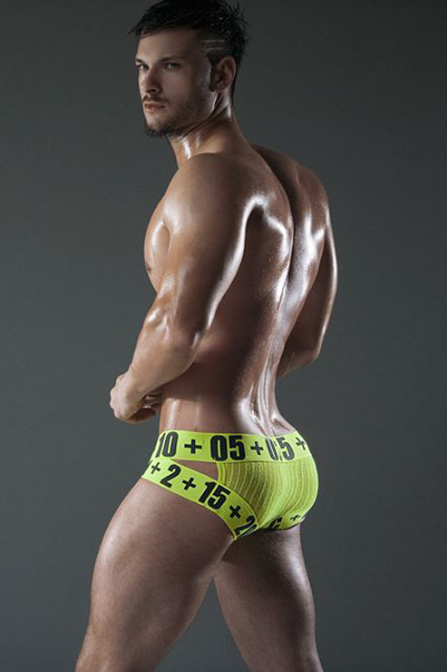 Fitness Model Chuck Strogish For C-in2 Hard Campaign